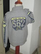 WoW TOM TAILOR Sweatjacke Sweat Jacke seitlich Reissverschluss Jacket 116 122