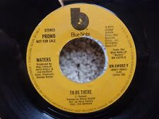 Waters To be there Blue Note promo BN-XW692-Y VG+