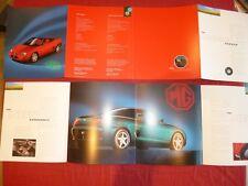 N°4053 / dépliant MG F cabriolet  texte français   deutch text   1995-96