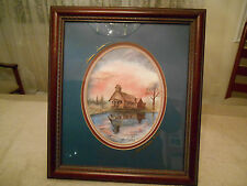 Sunrise Service Litho #248 '95 Signed Fowler Limited Edition Art Church