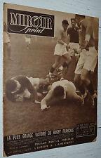 MIROIR SPRINT N°86 1948 FOOTBALL RENNES-REIMS RUGBY FRANCE-AUSTRALIE BOXE