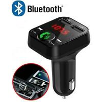 Im Auto Bluetooth FM Sender Radio USB Ladegerät MP3 Wireless Adapter Car Kit