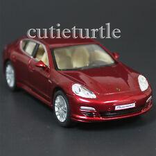 Kinsmart Porsche Panamera S 1:40 Diecast Toy Car Red