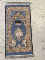 Islamic Travel Mat Prayer Rug Muslim janamaz Mat Turkish Quality Sajda chenille