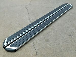 2009-2017 CHEVY TRAVERSE CHROME RUNNING BOARDS ASSIST STEPS GENUINE GM 19170424