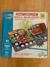 Snap Circuits Skill Builder Sb125 Game Fun Toys - 125 Kids Projects