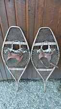 "ANTIQUE Snowshoes 42"" Long by 15"" Wide Ready To Hang for Decoration"