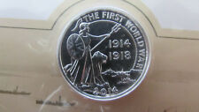 2014 £20 Silver Coin - Outbreak of World War I - UK Royal Mint - Sealed