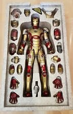 Open Box Hot Toys 1/6 Iron Man 3 Mark 42 MK XLII MMS197D02 Diecast