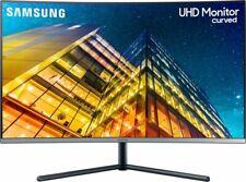 "Samsung U32R592CWU 32"" UHD VA LCD Curved Monitor, 4K, 3840 x 2160"