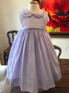 Lavender Dress Girls, Heirloom Strasburg Children size 24 months EUC