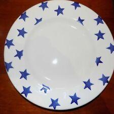 "Emma Bridgewater Blue Star 10 "" Dinner Plate 1st Quality"