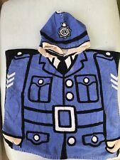 Policeman Poncho Towel 3-5 Years