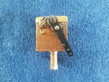 Live steam mechanical lubricator 1.25 x 1.25 square a quality UK made fitting
