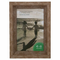 """Northlight 7.5"""" Classical Rectangular Photo 4"""" x 6"""" Picture Frame - Brown"""