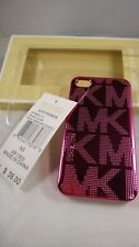 MICHAEL KORS Electronics Hot Pink Apple iPhone 4 and 4s Case Retails $38