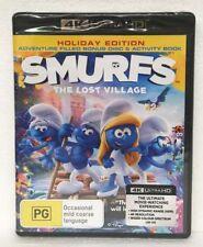 SMURFS - THE LOST VILLAGE - 4K ULTRA HD + Blu-ray oz seller 4K UHD DVD brand new