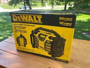 DEWALT 20-Volt MAX Compact Radio / charger   DCR015   Jobsite Cordless Portable