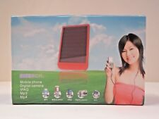 P2600 Solar Powered Mobile Charger