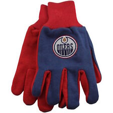 Edmonton Oilers Two-Tone Utility/Work Gloves