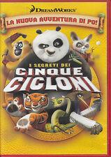DVD CARTONI DREAMWORKS-KUNG FU PANDA/I CINQUE CICLONI box,po,walt disney,kungfu,