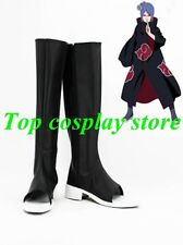 Naruto Konan Akatsuki Ninja Cosplay Shoes boots PU leather shoe boots gift party