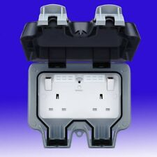 BG STORM WEATHERPROOF DOUBLE SWITCHED 13A OUTDOOR SOCKET WIFI EXTENDER