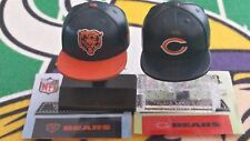 NFL Mad Lids Series 1 & 2 Chicago Bears 2-pack (2 mini caps/stands/stickers)