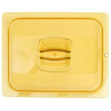 Restaurant Supplies Polycarbonate Amber 12 Size Food Pan Lid With Handle