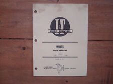 White tractor Models 2-30 and 2-35 I&T Shop Manual