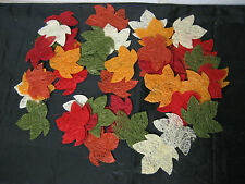 48 Sisal Herbstblätter Herbstdekoration Blätter Herbstlaub Herbst Floristik Deko