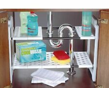 Addis Under Sink Storage Unit Shelves So You Can Keep All Your Cleaning White_UK