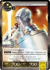 Force of Will 4x 4 x Knight of Loyalty - CMF-010 - C x4  PACK FRESH MINT