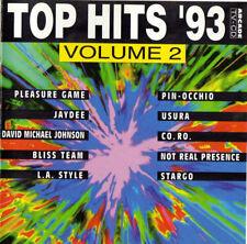 TOP HITS '93 - VOLUME 2 - PIN-OCCHIO - COMPILATION - CD ALBUM 19 TITRES 1993