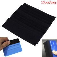 10Pcs/set Vinyl Film Car Wrap Felt Fabric Squeegee Auto Window Clean Scraper BCD