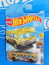 Hot Wheels 2018 HW Metro Series #329 Hot Wheels High School Bus Gold