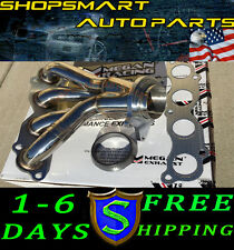 MEGAN RACING EXHAUST STAINLESS HEADER FOR ACURA 2002 RSX TYPE-S 02