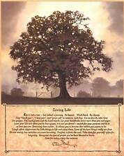 New! Living Life Tree by Bonnie Mohr Fine Art Style Print Home Wall Decor 663494