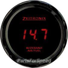 Zeitronix Zt-3 Wideband Oxygen Sensor Kit LSU 4.9 AFR & ZR-3 Black Gauge Red LED