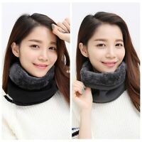 Outdoor Women Men Warm Winter Ski Polar Fleece Snood Neck Warmer Thermal Scarf
