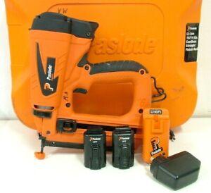 Paslode Cordless IM250S Li B20710 16/14Ga Bradder Finish Straight Nail Gun Kit