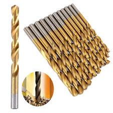 99Stk. Titanium HSS Bohrersatz Bohrer Werkzeugsatz beschichtet   1,5mm-10mm NEU