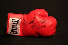 FRANK TATE MID WT CHAMP OLYMPIC MEDAL AUTOGRAPHED SIGNED EVERLAST BOXING GLOVE
