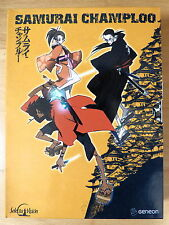 DVD Anime Manga Samurai Champloo col.completa 26 episodios 6 discos