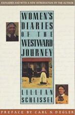 Women's Diaries of the Westward Journey