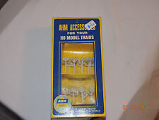 AHM Accessories for Your HO Scale Model Trains - Assorted RR & Traffic Signs