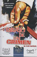 DVD - Ensayo De Un Crimen NEW Luis Bunuel Rita Macedo FAST SHIPPING !