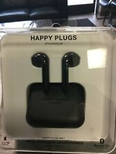 Happy Plugs Air1 In-Ear  Bluetooth Wireless Headphones AirPod style Black
