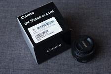 Canon EF 50 mm F/1.8 STM Objektiv für die Canon EOS Serie EF-S kompatibel