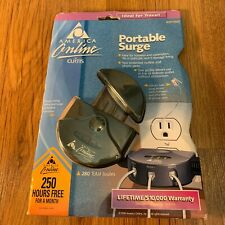 Vintage America Online by Curtis Portable Surge Protector Telephone ASP150T NIB